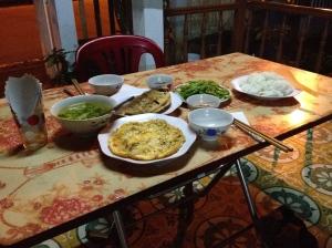 Dinner in P'rao.