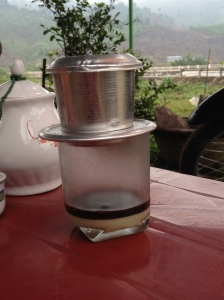 Vietnamese coffee.